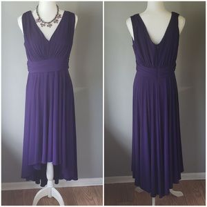 ColdWater Creek Gorgeous deep purple dress
